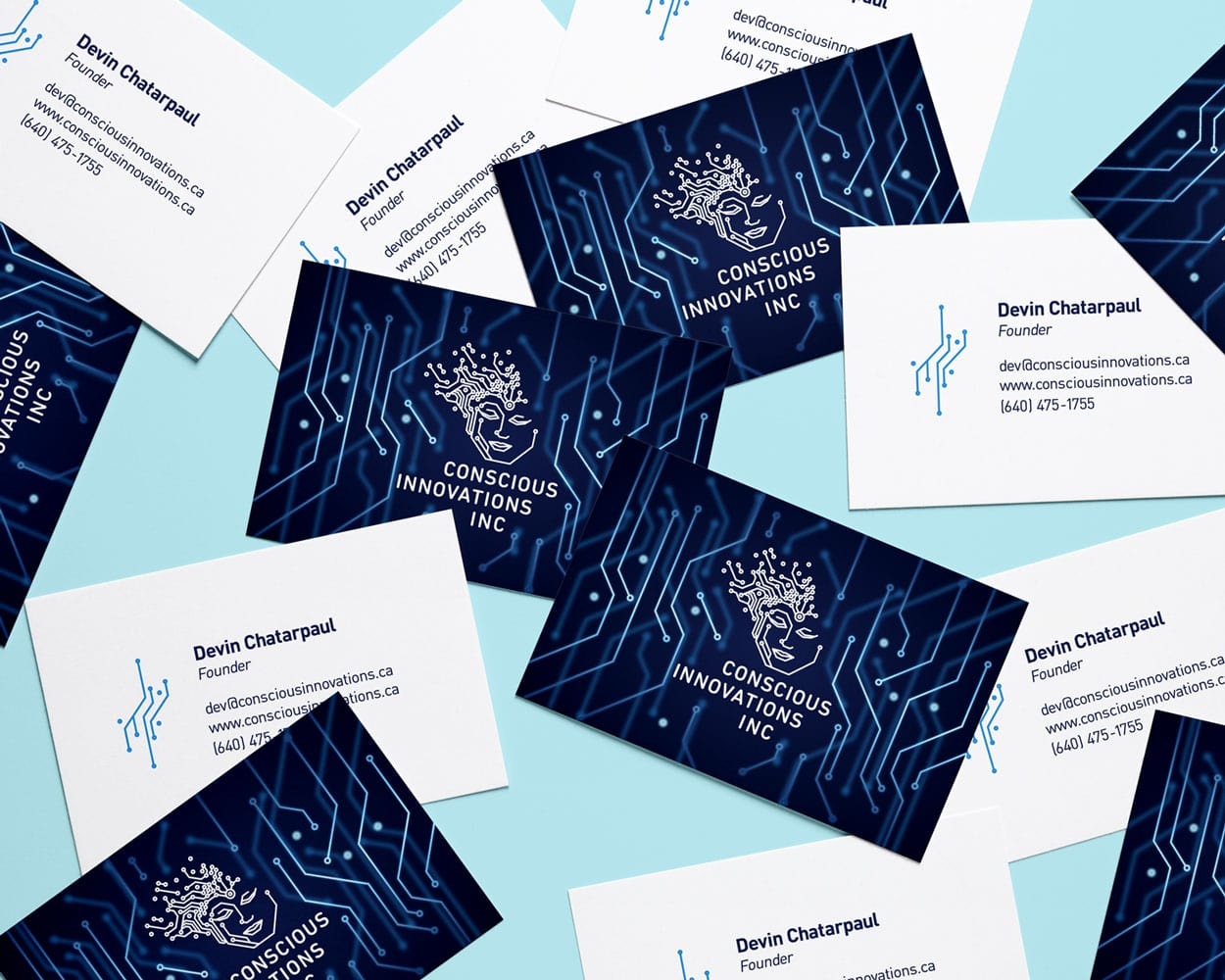 Conscious Innovations Business Cards