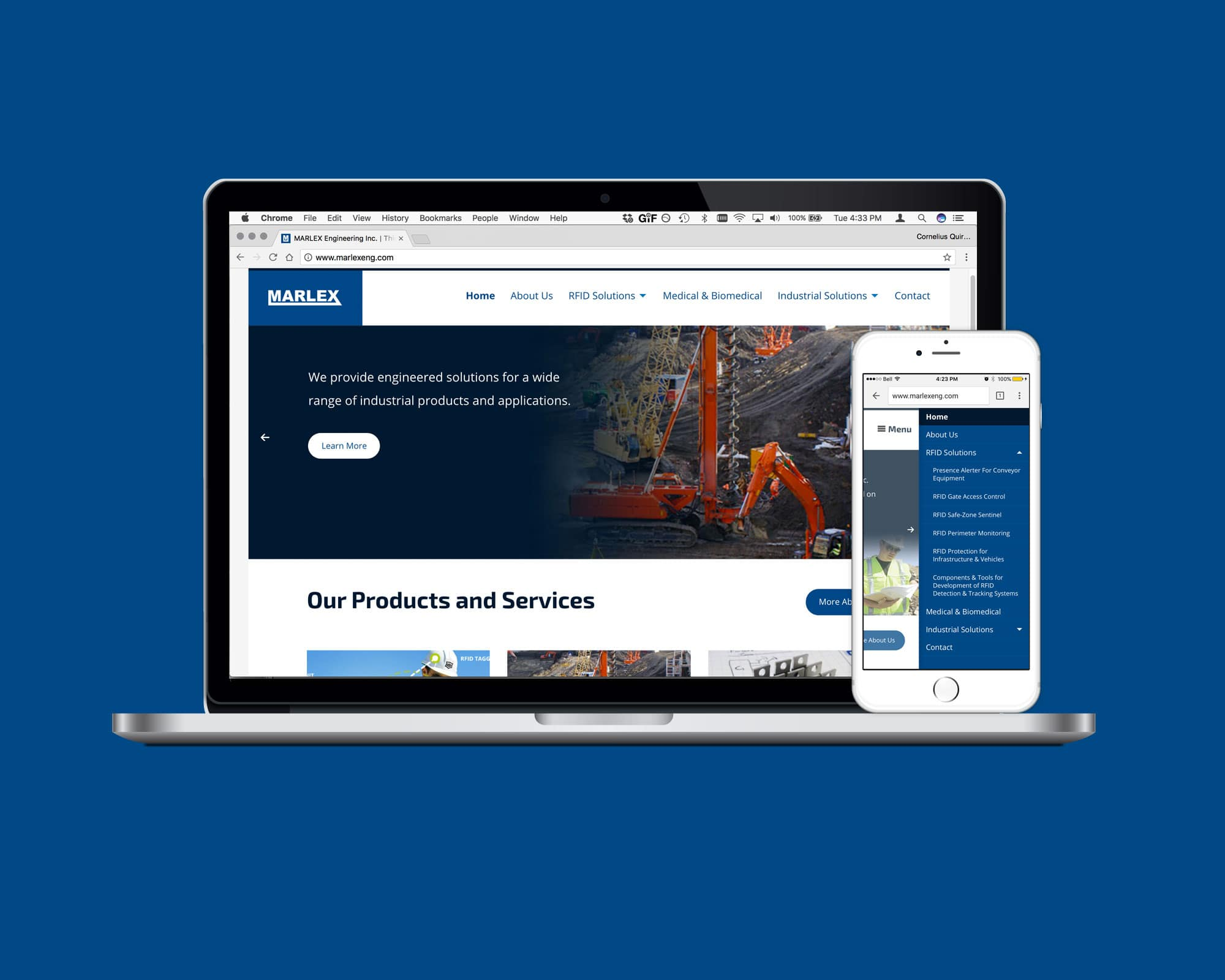 Marlex Engineering Website