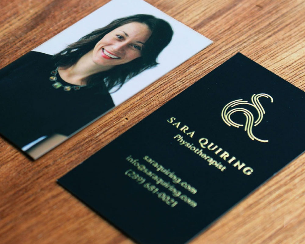 Sara Quiring's Business Cards