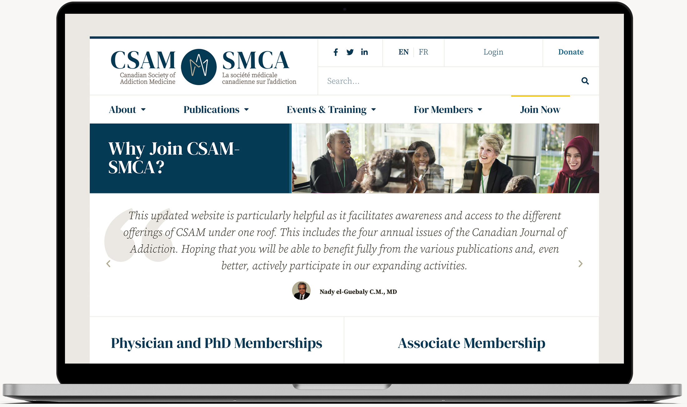 CSAM-SMCA General Page