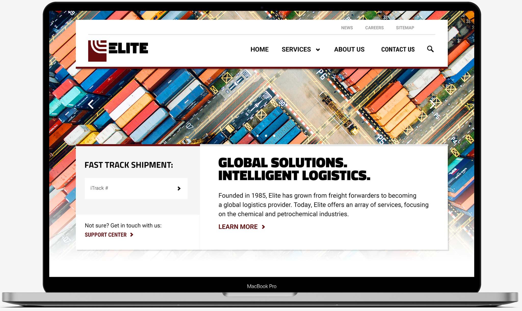 Elite Trax Homepage